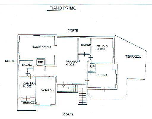 Planimetria P.Primo Villa ALICE Bel Colle 001